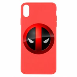 Чохол для iPhone X/Xs Deadpool Logo