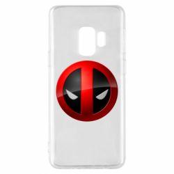 Чехол для Samsung S9 Deadpool Logo