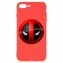 Чохол для iPhone 8 Plus Deadpool Logo