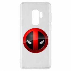 Чехол для Samsung S9+ Deadpool Logo
