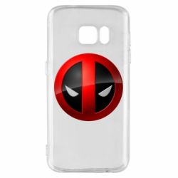 Чехол для Samsung S7 Deadpool Logo