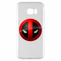 Чохол для Samsung S7 EDGE Deadpool Logo