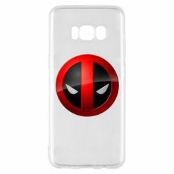 Чехол для Samsung S8 Deadpool Logo