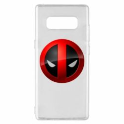Чохол для Samsung Note 8 Deadpool Logo