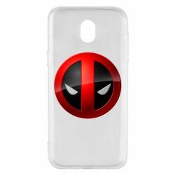 Чехол для Samsung J5 2017 Deadpool Logo