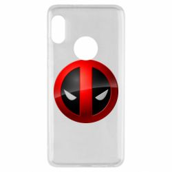 Чохол для Xiaomi Redmi Note 5 Deadpool Logo