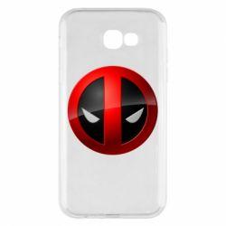 Чехол для Samsung A7 2017 Deadpool Logo
