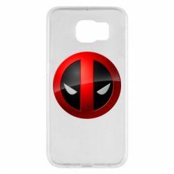 Чехол для Samsung S6 Deadpool Logo