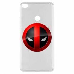 Чехол для Xiaomi Mi Max 2 Deadpool Logo
