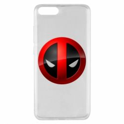 Чохол для Xiaomi Mi Note 3 Deadpool Logo