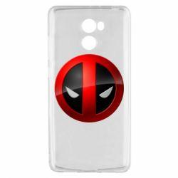 Чехол для Xiaomi Redmi 4 Deadpool Logo