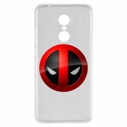 Чехол для Xiaomi Redmi 5 Deadpool Logo