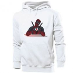 Чоловіча толстовка Deadpool love 3D model