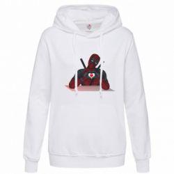 Толстовка жіноча Deadpool love 3D model