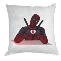 Подушка Deadpool love 3D model