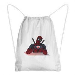 Рюкзак-мішок Deadpool love 3D model
