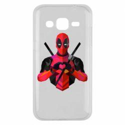 Чохол для Samsung J2 2015 Deadpool Love