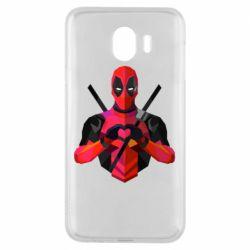 Чохол для Samsung J4 Deadpool Love
