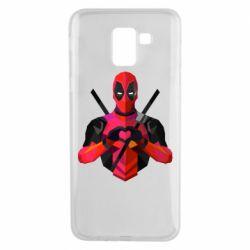 Чохол для Samsung J6 Deadpool Love