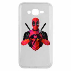 Чохол для Samsung J7 2015 Deadpool Love