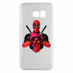 Чохол для Samsung S6 EDGE Deadpool Love