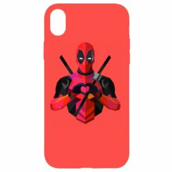 Чохол для iPhone XR Deadpool Love