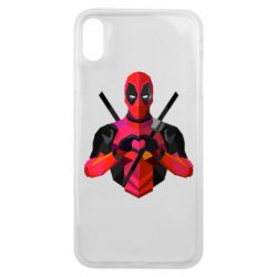 Чохол для iPhone Xs Max Deadpool Love