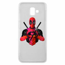 Чохол для Samsung J6 Plus 2018 Deadpool Love