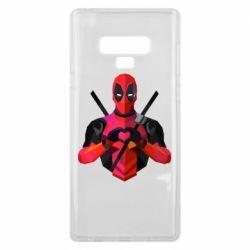 Чохол для Samsung Note 9 Deadpool Love
