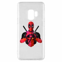 Чохол для Samsung S9 Deadpool Love