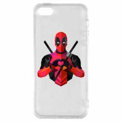 Чохол для iphone 5/5S/SE Deadpool Love