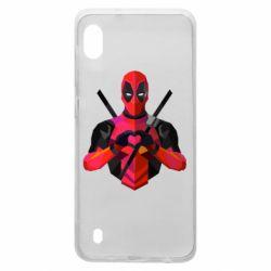 Чохол для Samsung A10 Deadpool Love