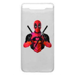 Чохол для Samsung A80 Deadpool Love