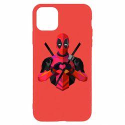 Чохол для iPhone 11 Pro Deadpool Love