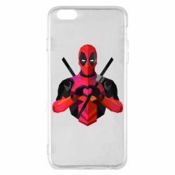 Чохол для iPhone 6 Plus/6S Plus Deadpool Love