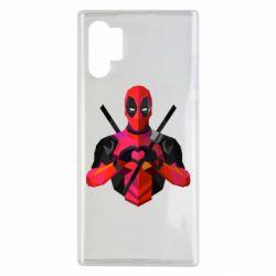 Чохол для Samsung Note 10 Plus Deadpool Love