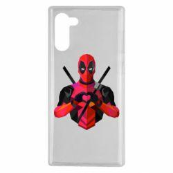 Чохол для Samsung Note 10 Deadpool Love