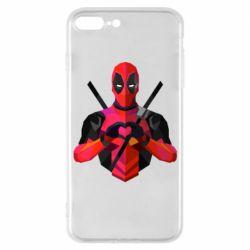 Чохол для iPhone 7 Plus Deadpool Love