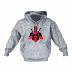 Дитяча толстовка Deadpool Love