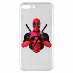 Чохол для iPhone 8 Plus Deadpool Love