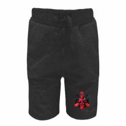 Дитячі шорти Deadpool Love
