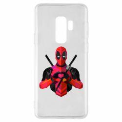 Чохол для Samsung S9+ Deadpool Love