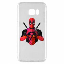 Чохол для Samsung S7 EDGE Deadpool Love