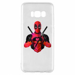 Чохол для Samsung S8 Deadpool Love