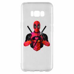 Чохол для Samsung S8+ Deadpool Love