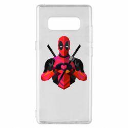 Чохол для Samsung Note 8 Deadpool Love