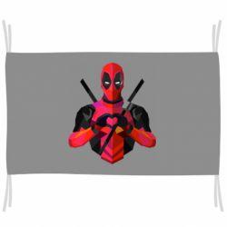 Прапор Deadpool Love