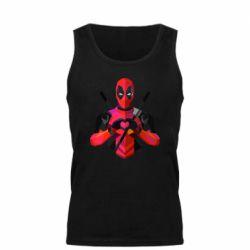 Мужская майка Deadpool Love