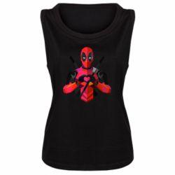 Женская майка Deadpool Love