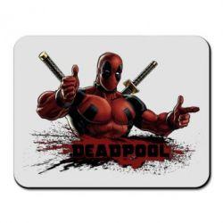 Коврик для мыши Deadpool Paint - FatLine